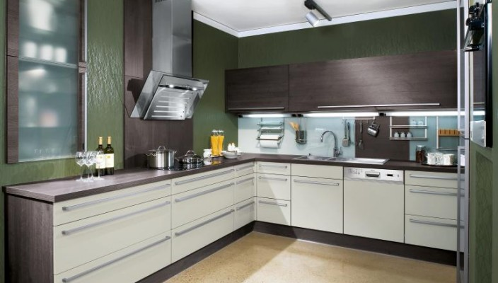 Modern Brown Kitchen Decor