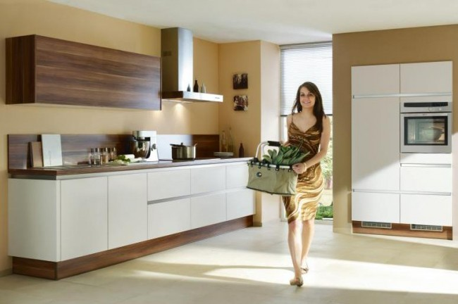 Use small appliances in your small kitchen to make it seem bigger