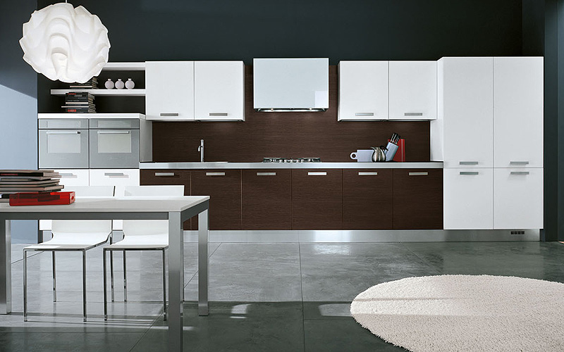 Interior exterior plan how to care for laminate kitchen for Wenge kitchen designs