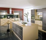 Spacious Contemporary Kitchen Area
