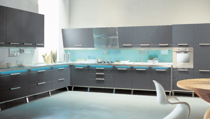 Ultra Modern-Looking Kitchen