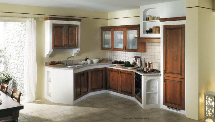 Etonnant Select Best Contrasting Colors To Match Your Kitchen Cabinetry With Walls