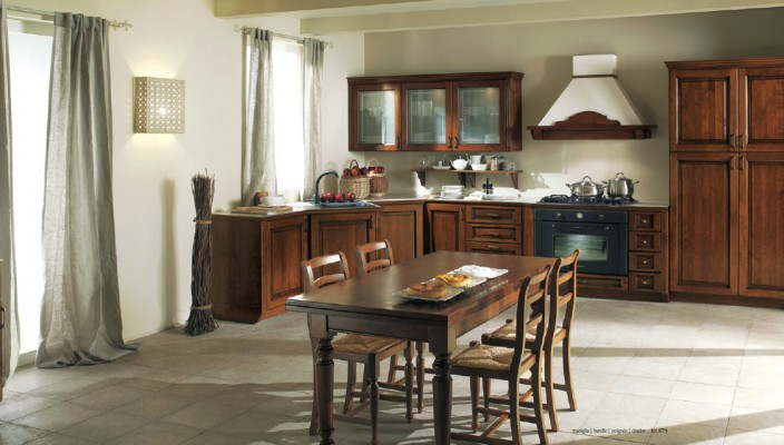 Use pale yellow or terra cotta colors to brighten up your kitchen