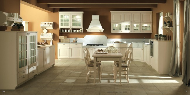 Lari Kitchen Design Avorio Piura