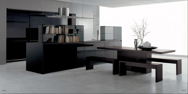 One of most contemporary colors for kitchen cabinets