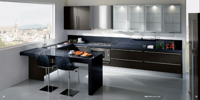 Ideal Kitchen Idea with Dual Tones