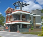 Make use of websites to build a 3D model of your house exterior
