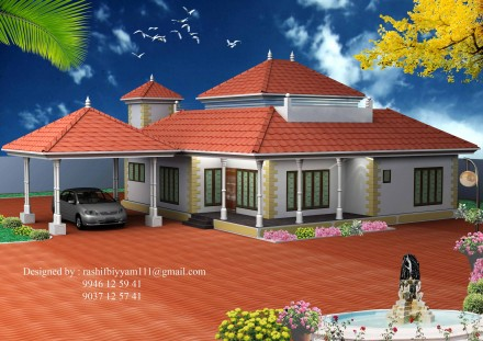 Exterior Home Design on 3d House Exterior Design   Interior Exterior Plan