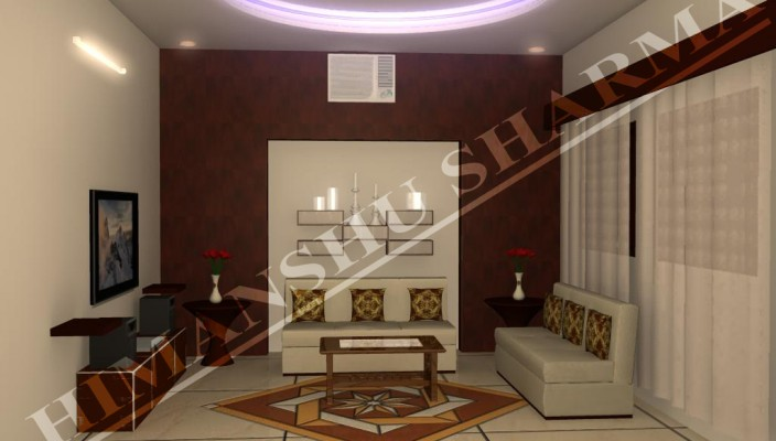 Interior exterior plan living room design for limited spaces for Limited space bedroom ideas