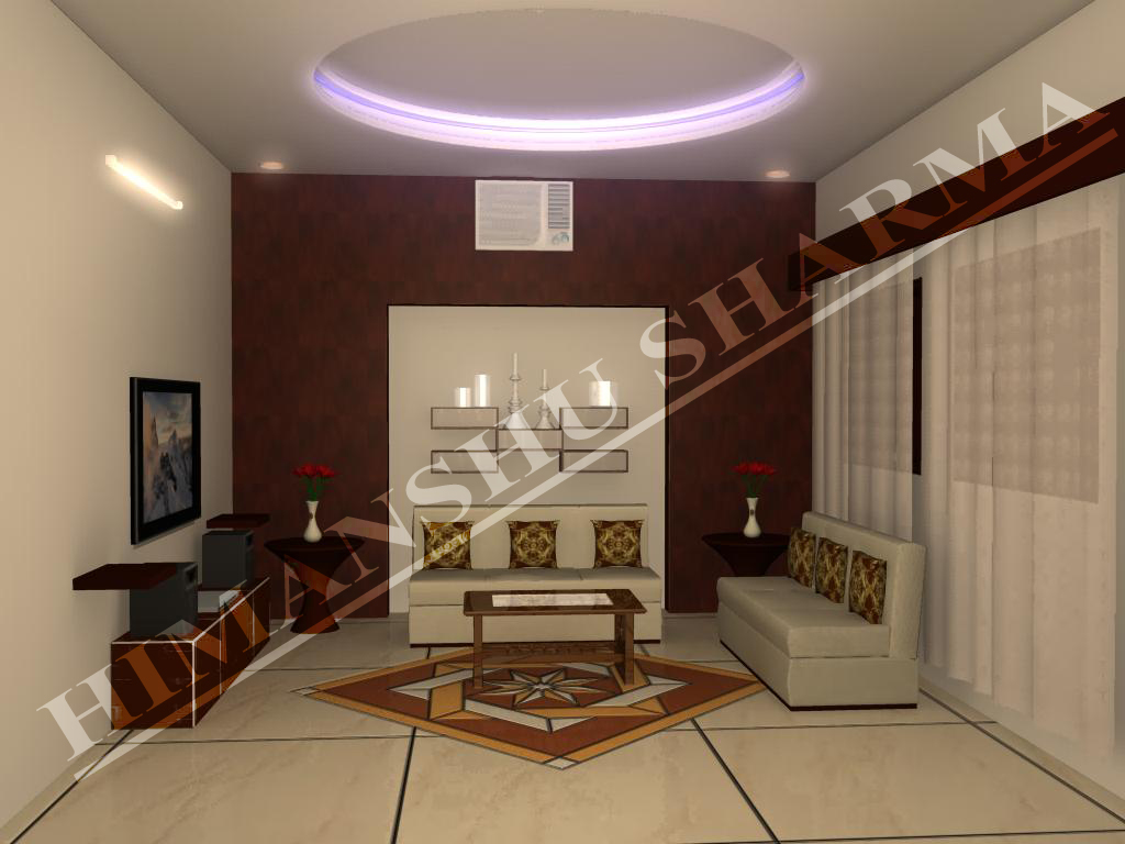 Interior exterior plan living room design for limited spaces for Drawing room decoration