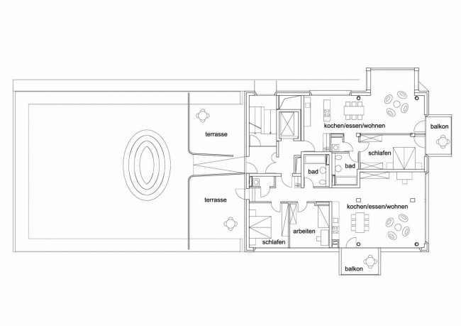 Baufeld 10 - 7th floor plan