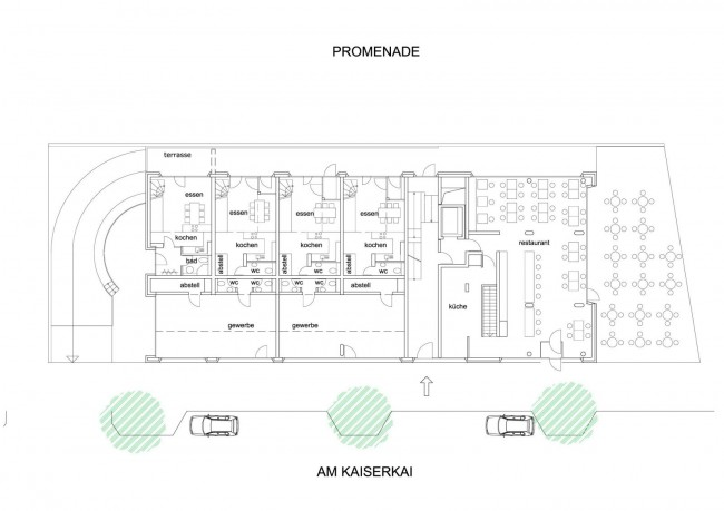 Baufeld 10 - Ground floor plan