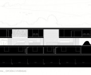 Pitch's House by Inaqui Carnicero - Section View 02