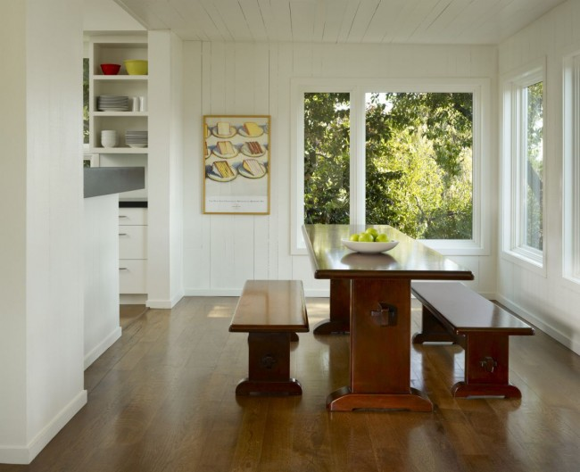 Potrero House - Dining Area by Cary Bernstein