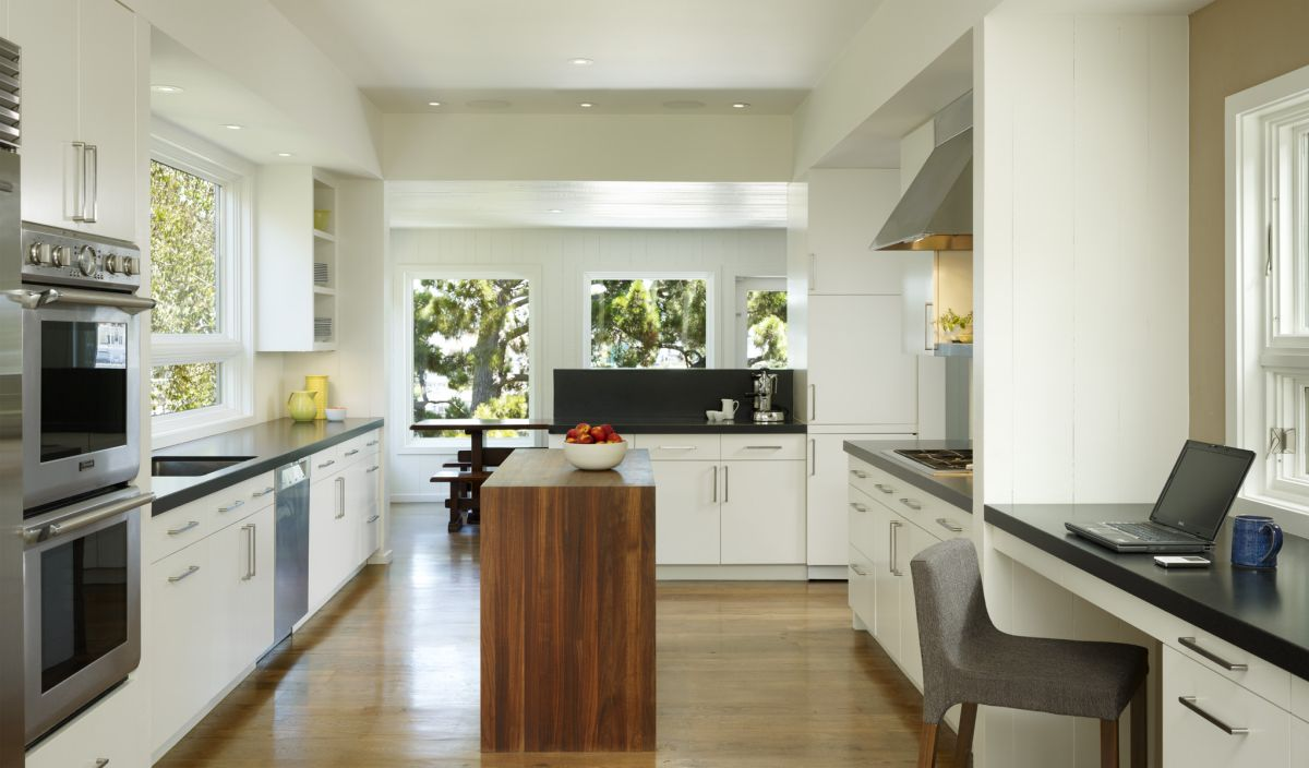 Interior exterior plan potrero house kitchen design by for Kitchen designs for small houses