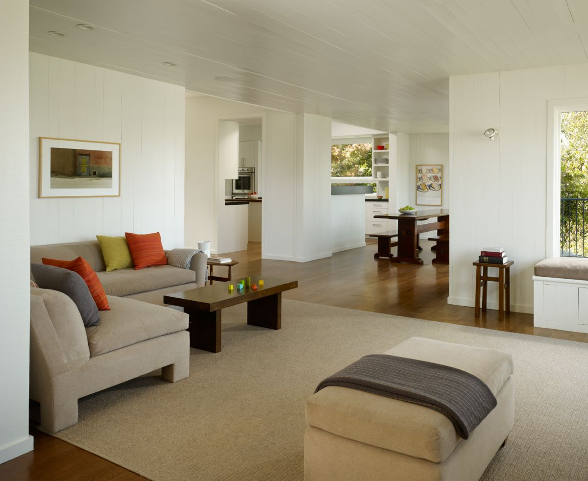 Interior exterior plan potrero house living room by Inside house living room