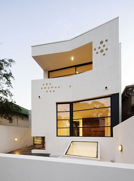Prahran House Exterior Design - 01 by Nervegna Reed + PH Architects