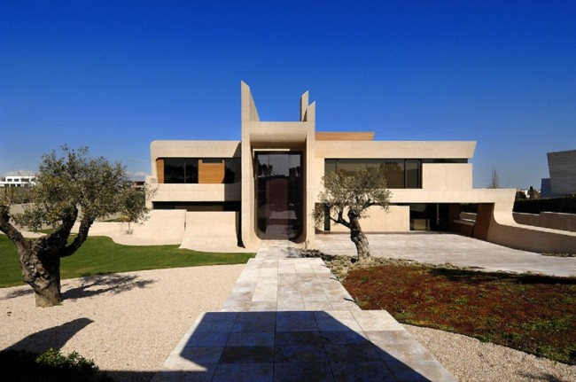House Exterior Design by A-cero Architects - 01
