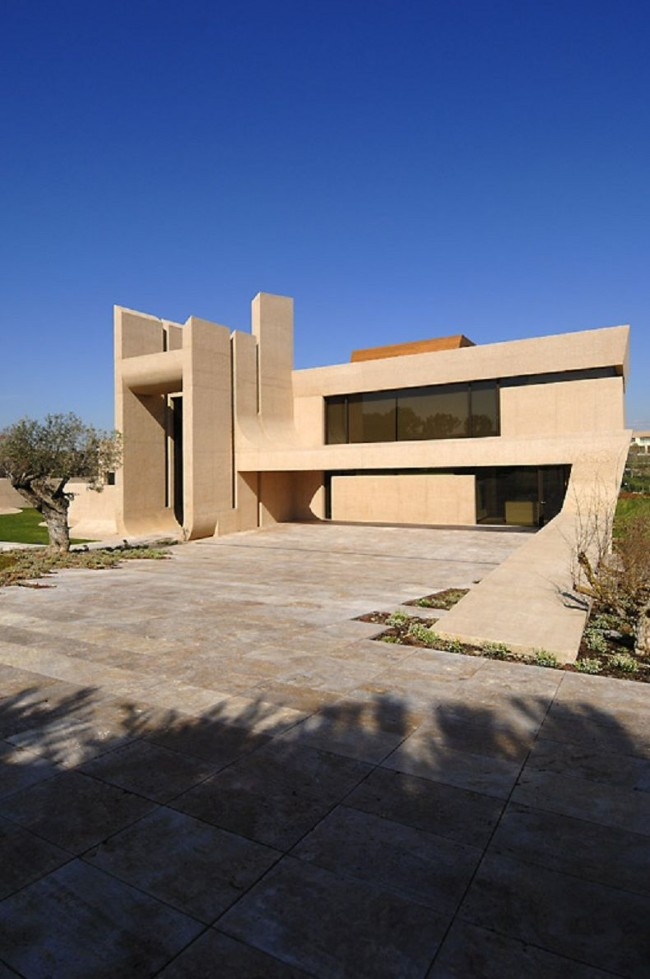 House Exterior Design by A-cero Architects - 04