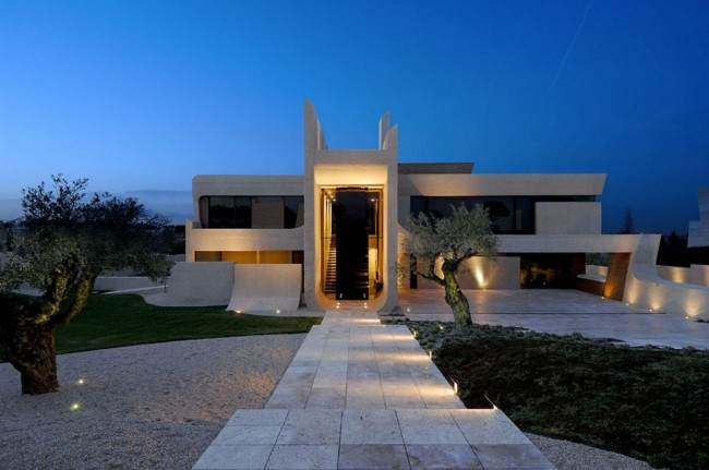 House Exterior Design by A-cero Architects - 25