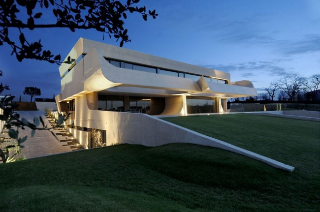 House Exterior Design by A-cero Architects - 31