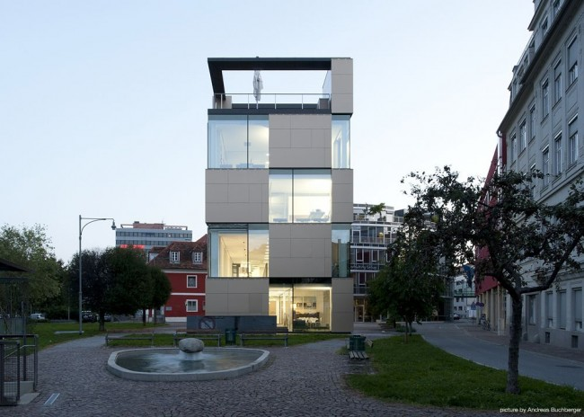 nik building by ate­lier thomas pucher and alfred bram­berger 06