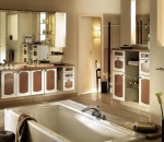 Defining Bathroom Concept with Designer Cabinets