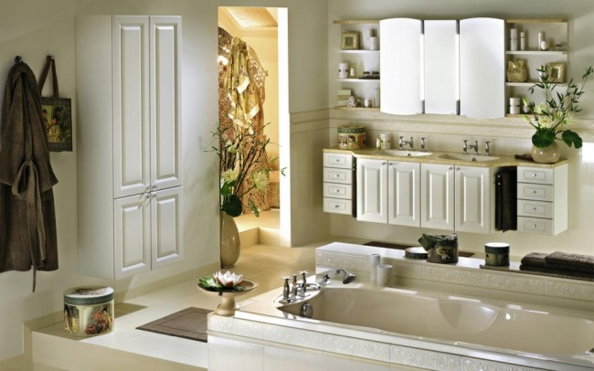 Subtle and Classic Bathroom Concept for Modern Homes