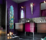 Colorful Bathroom Concept for Dramatic Interior
