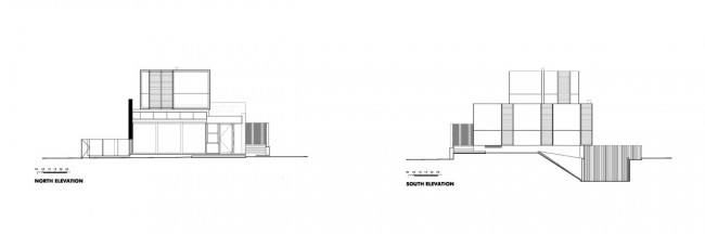 Good Residence House North Elevation