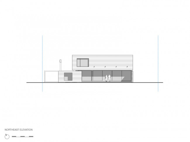myp house design north-east elevation
