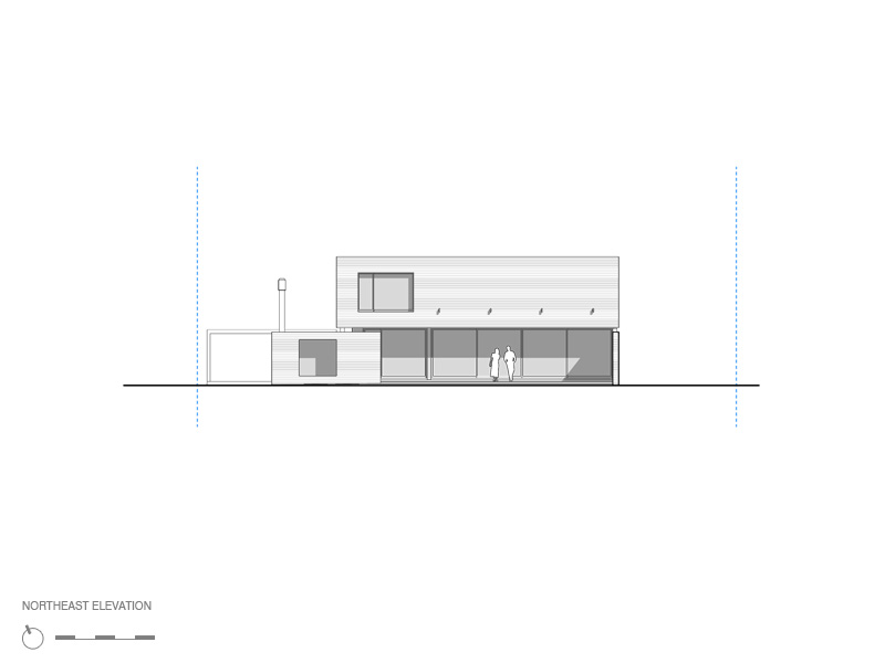 ... 563 Views • No Comments on MYP House Design North-East Elevation