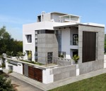 Lavish cube styled home design for smaller spaces