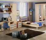 Classic and modern interior for kid's room