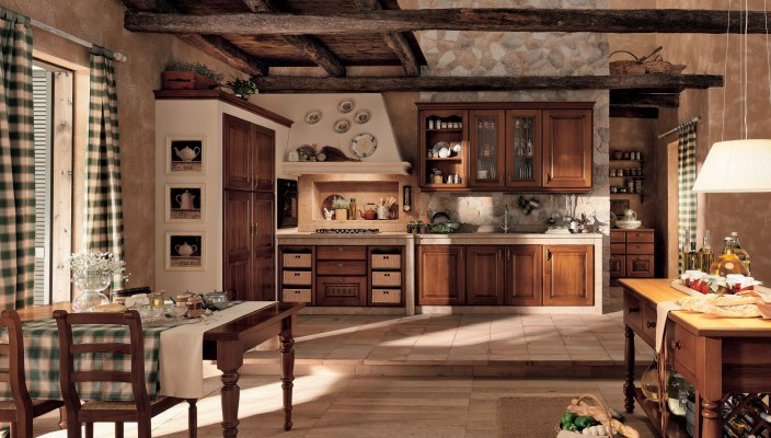 Antique style kitchen idea for modern homes