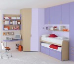 Kid's bedroom idea for small spaces