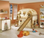 Subtle and functional design for kids' room