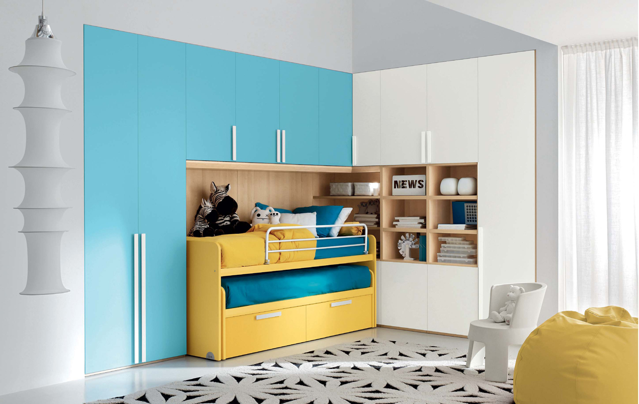 emejing yellow and blue bedroom pictures - amazing design ideas