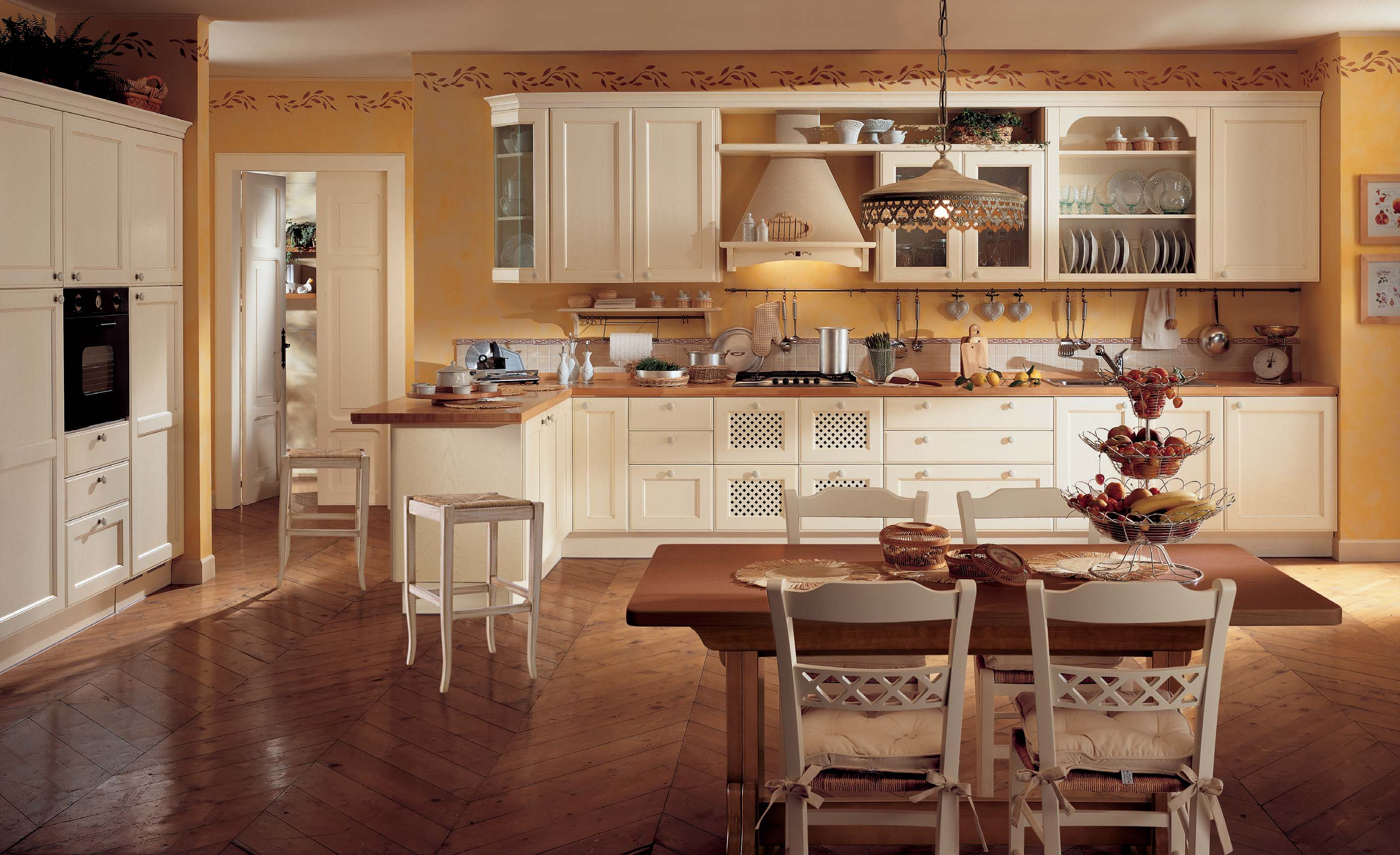 Interior Exterior Plan Large Kitchen Idea In A Classy Style