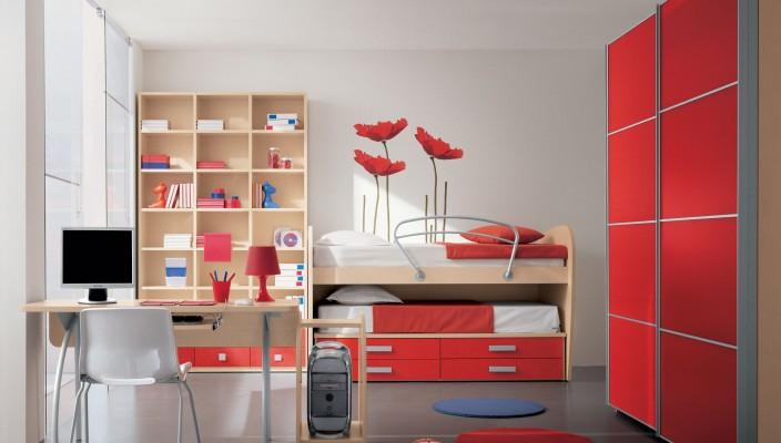 Bright interior theme for kid's room