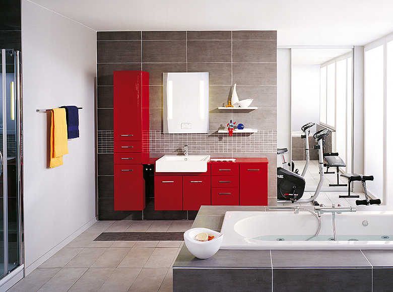 Interior exterior plan space saving venti modern for Space efficient bathroom designs