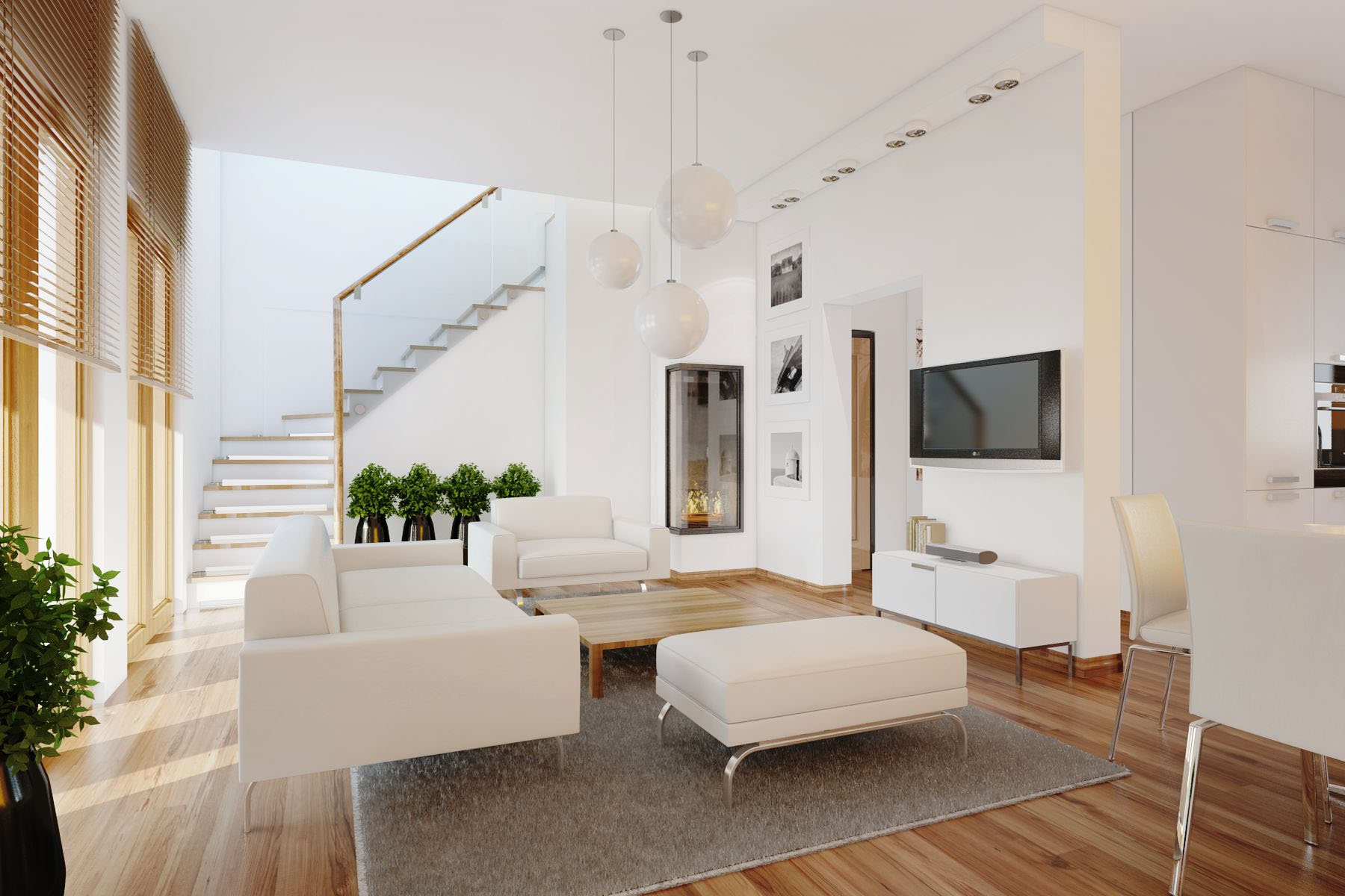 Modern Elegant Living Room Interior