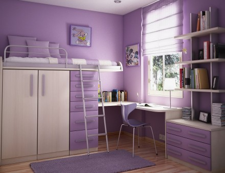 Teen Kids Bedroom Design Interior Exterior Plan