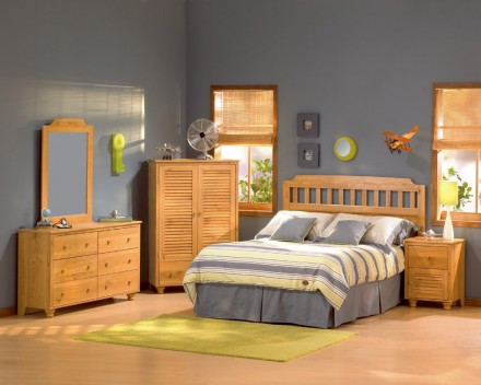 Wooden Kids Bedroom Design Interior Exterior Plan