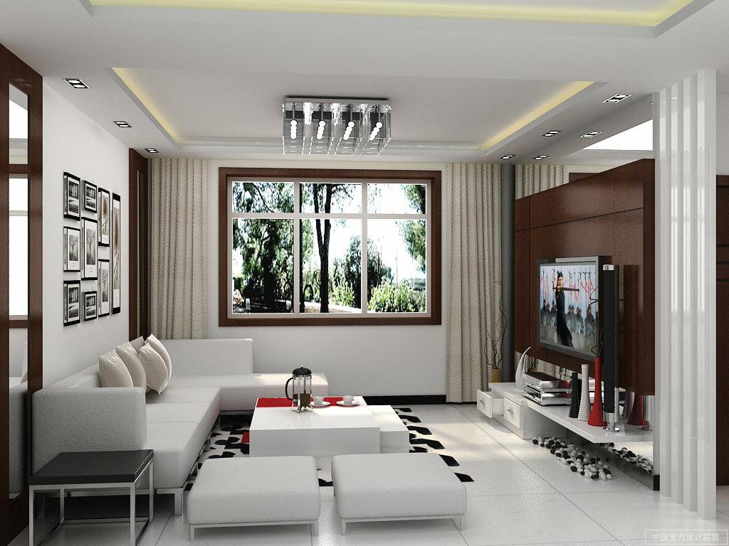 Interior exterior plan contemporary living room interior for Contemporary style living room