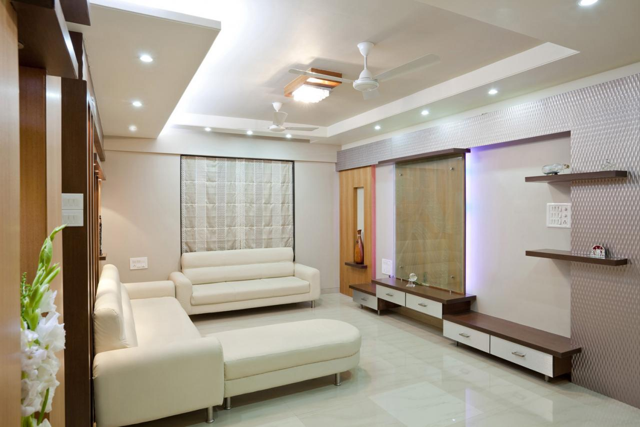 Interior exterior plan pancham living room interior for Living room interior bangalore