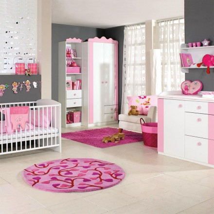 Pink Childrens Bedroom Furniture Interior Exterior Pl