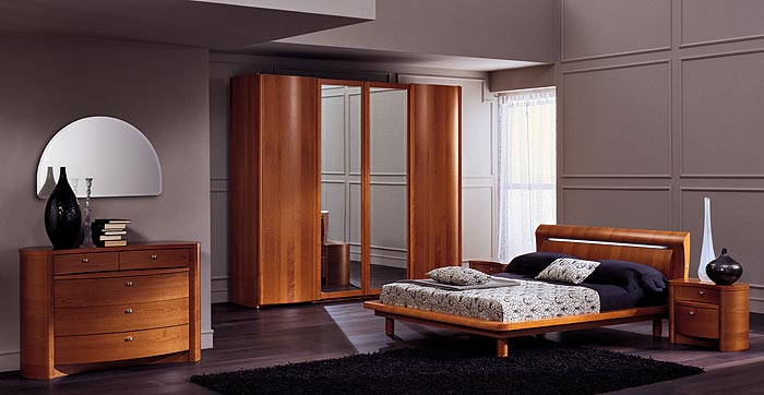 Bedroom Interior Platform Bed