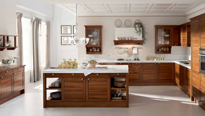 Classic Villanova Marbletop Kitchen