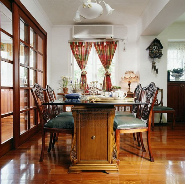 Dining Room Sliding Door Partition
